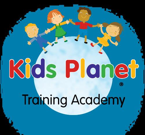 Kids Planet Circle Logo